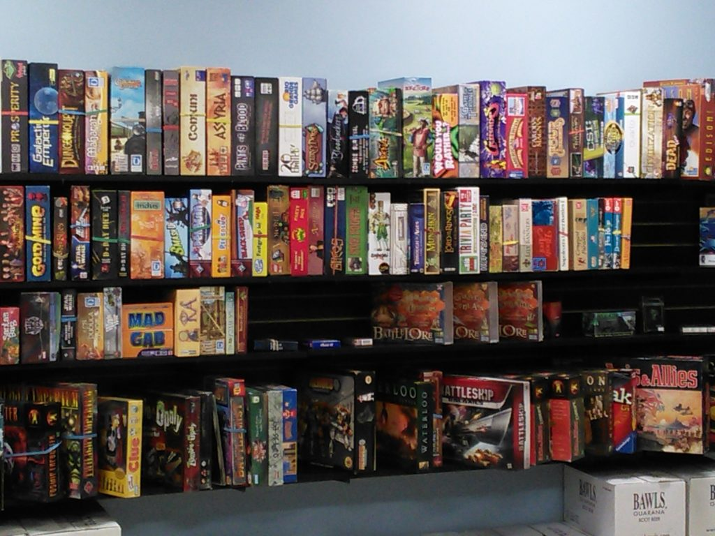 Our Used Board Game section features many games at 40-60% off their retail price