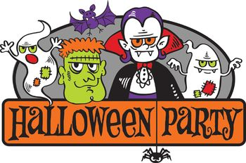 Halloween-Party-Clip-Art
